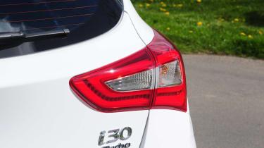 Hyundai i30 Turbo badge