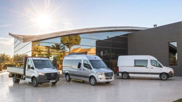 New Mercedes Sprinter 2018 - range