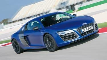 Audi R8 V10 Plus front tracking