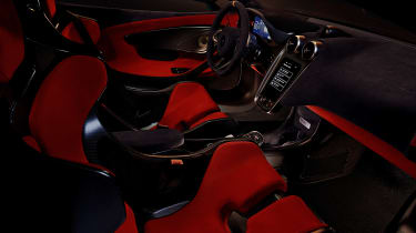 McLaren 600LT - interior