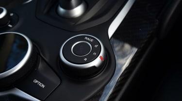 Alfa Romeo Giulia Quadrifoglio - centre console