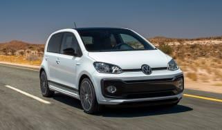 Volkswagen up! GTI prototype - front tracking