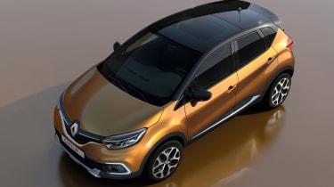 Facelifted Renault Captur - above