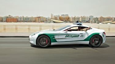 Aston Martin One-77 police car