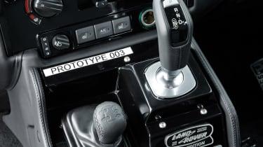 Land Rover Defender Works V8 - transmission