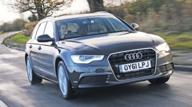 Audi A6 Avant 3.0 TDI front tracking