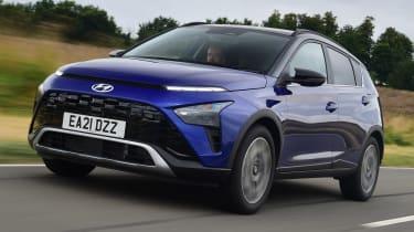 Hyundai Bayon - front tracking