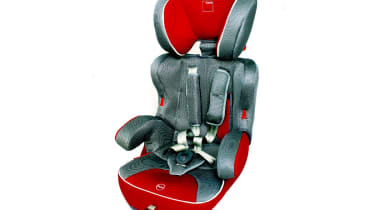 Convertible seats: iCandy £80Truly versatile, this seat has a harness to fit children from nine months old. When they are too big, you remove the straps and seatback. There's a seven-position adjustable headrest, while the