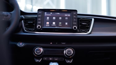 New Kia Rio - reveal event infotainment