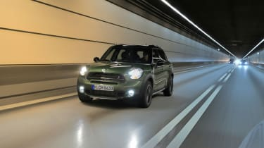 MINI Countryman tunnel
