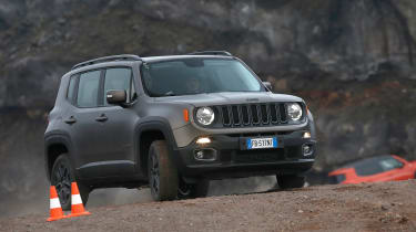 Jeep Renegade Night Eagle 2016 Review Auto Express