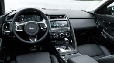 Jaguar E-Pace 240D diesel - interior