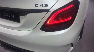 Mercedes-AMG C 43 - Geneva badge