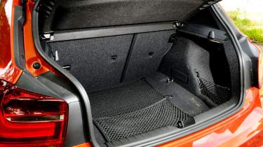 BMW 125d M Sport boot