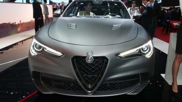 Alfa Romeo Stelvio NRING - Geneva full front