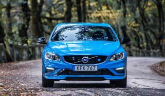 Volvo V60 Polestar - front blue