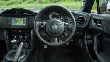 Toyota GT86 Orange Edition - steering wheel