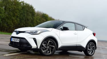 Toyota C-HR - front static
