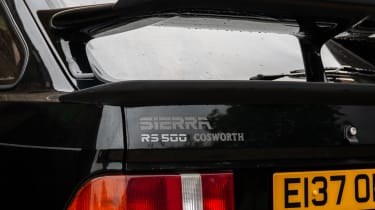 Ford Sierra RS500 Cosworth - tailgate
