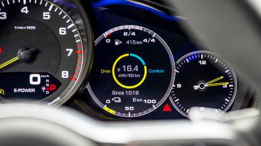Porsche Panamera Sport Turismo 2017 review - speedo