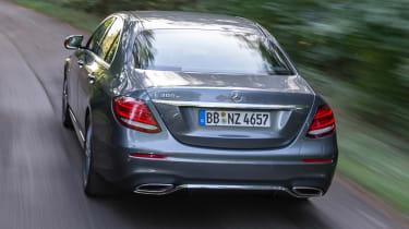 Mercedes E 300 e - rear