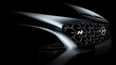 Hyundai Kona N - front detail teaser