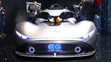 Mercedes EQ Silver Arrow front end