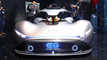 Mercedes EQ Silver Arrow front end
