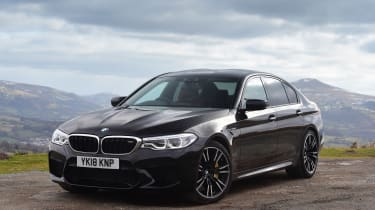 BMW M5 - front static