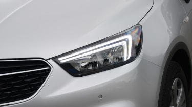 Vauxhall Mokka X - front light detail