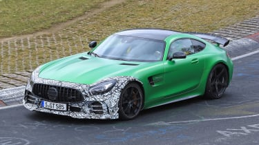 Mercedes-AMG GT R Clubsport front quarter
