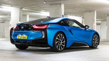 Used BMW i8 - rear