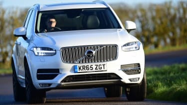 Volvo XC90 long term - front cornering
