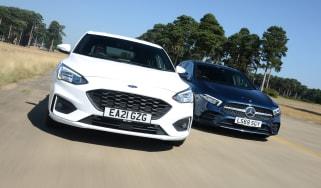 Ford Focus vs Mercedes A-Class