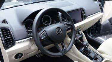Skoda Karoq steering wheel