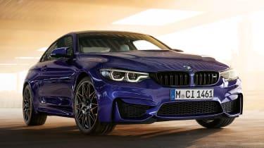 BMW M4 M Heritage Edition - Velvet Blue