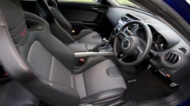 Mazda RX-8 coupe dash