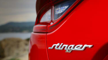 Kia Stinger - badge