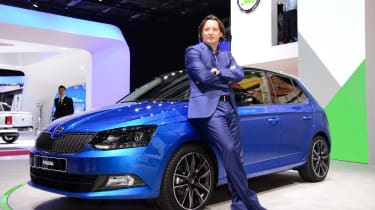 """We wanted to keep the genetics of the Fabia, but use the opportunity to make the car a little more sporty."""