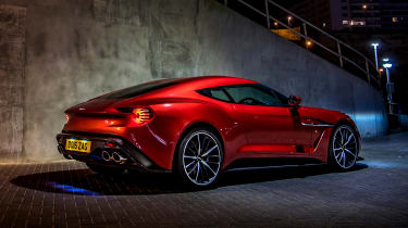 Aston Martin Vanquish Zagato - rear static night