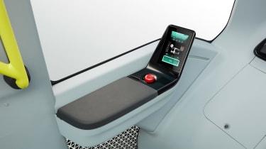 Toyota e-Palette - control panel