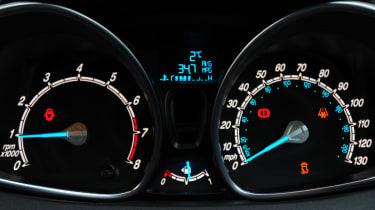 Ford Fiesta dials