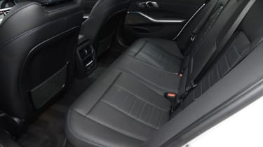 BMW 330e - rear seats