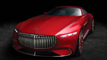 Mercedes-Maybach 6 concept coupe - studio front