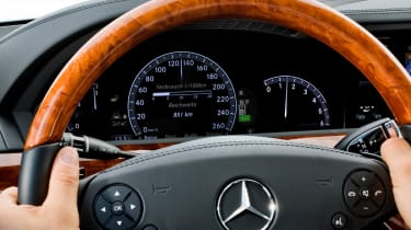 Mercedes S-Class Distronic Plus with Steering Assist