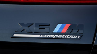 BMW X6 M Competition - badge