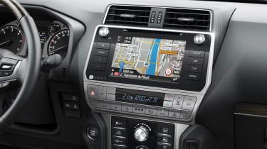 2018 Toyota Land Cruiser - infotainment