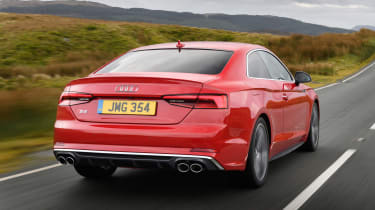 Audi S5 Coupe - rear