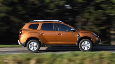 Dacia Duster Long Term - side