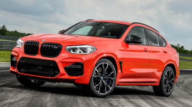 BMW X4 M Competition - front 3/4 static